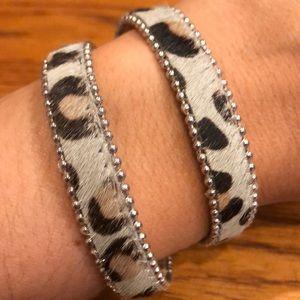 Jewelry - Leopard Double Wrap Bracelet
